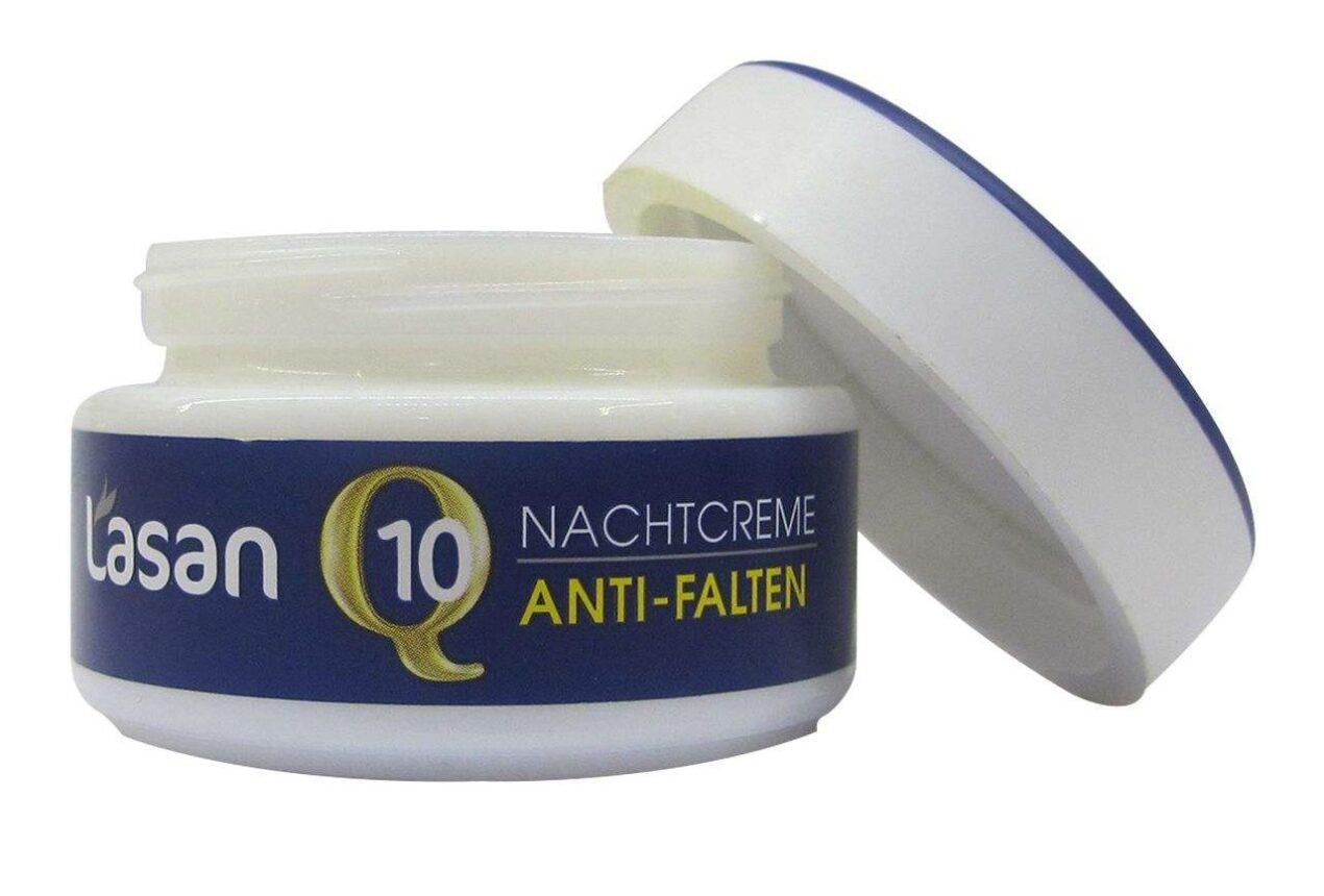 هیالورونیک اسید کرم ضد چروک شب لازان مدل Q10