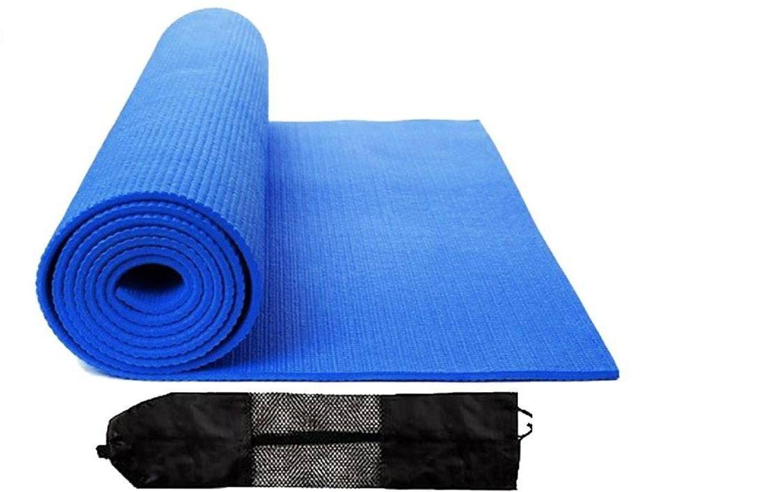 تشک ورزشی_زیرانداز یوگا مدل PVC