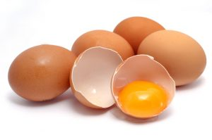 کاهش وزن تخم مرغ