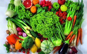 کاهش وزن سبزیجات