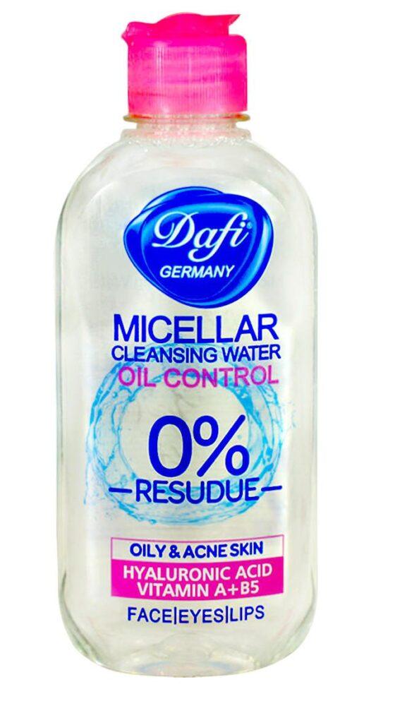 میسلار واتر آب پاک کننده صورت دافی مدل Oil control