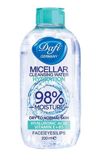 میسلار واتر آب پاک کننده صورت دافی مدل Hydration
