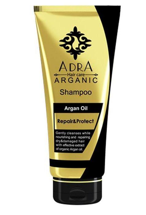 شامپو ترمیم کننده و مراقبت کننده حاوی روغن آرگان آدرا مدل Repair And Protect ARGAN OIL