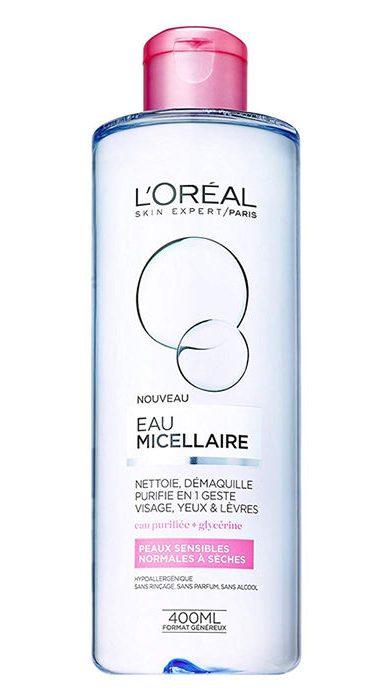 میسلار واتر محلول پاک کننده لورآل مدل Normal to Dry Skin