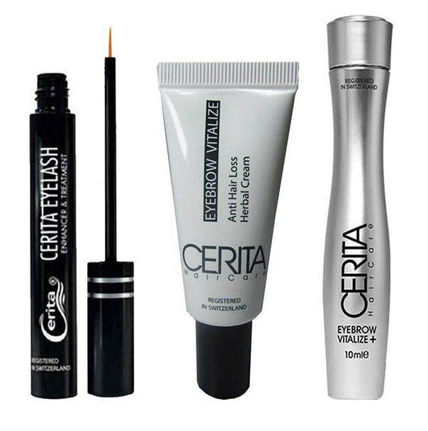 پک تقویت مژه و ابرو سریتا مدل Eye brow and Vitalize