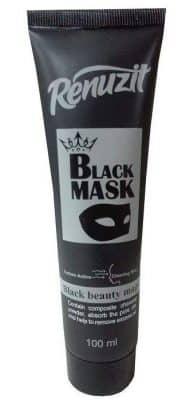 ماسک صورت رینوزیت مدل Black mask carbon active