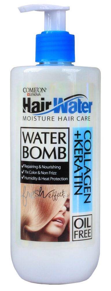 کرم آبرسان مو مدل Collagen Hair Water حجم 400 میلی لیتر