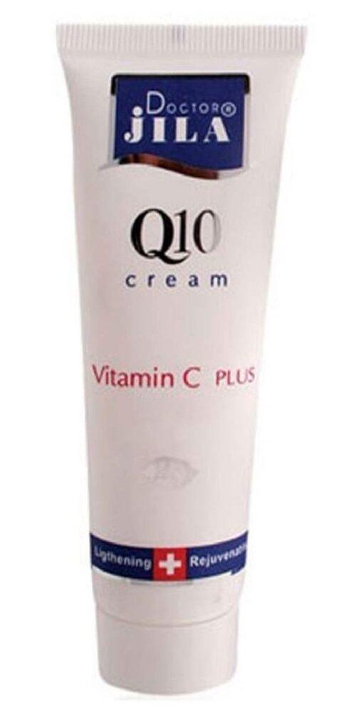 کرم ضد چروک دکتر ژیلا سری Q10 مدل Vitamin C Plus حجم ۵۰ میلی لیتر