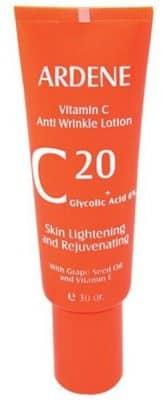کرم ویتامین سی لوسیون ضد چروک آردن مدل Vitamine C مقدار 30 گرم