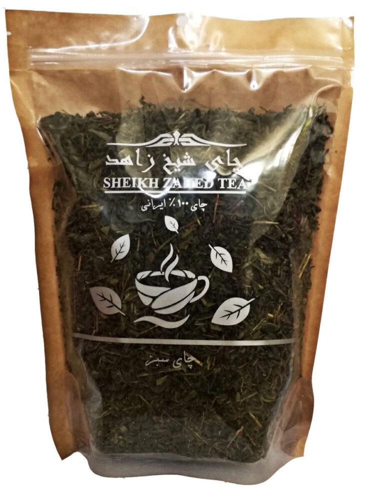 چای سبز قلم شیخ زاهد مقدار 400 گرم