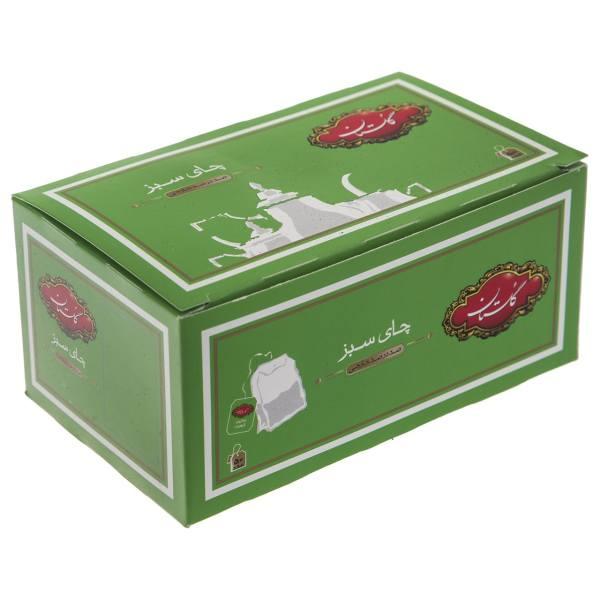 چای سبز کیسه ای گلستان بسته 50 عددی