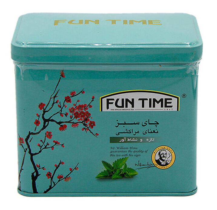 چای سبز فان تایم مدل نعنا مراکشی وزن 200 گرم