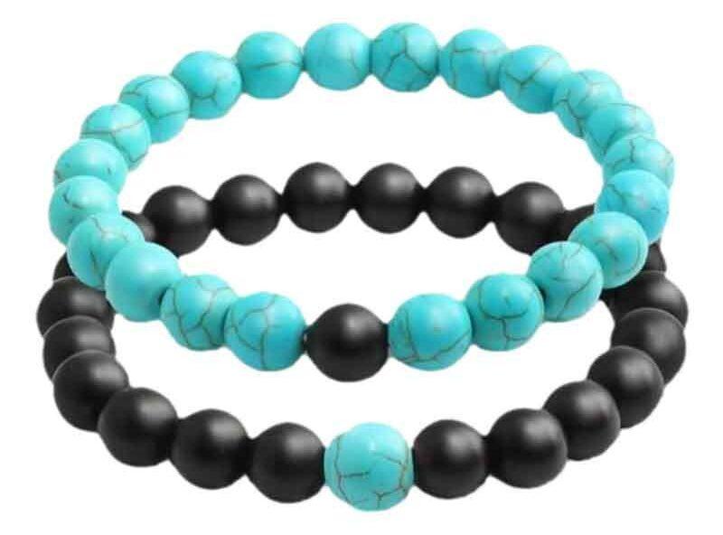 خرید کادو برای دختران دستبند نازنین مدل CB-FA مجموعه 2 عددی
