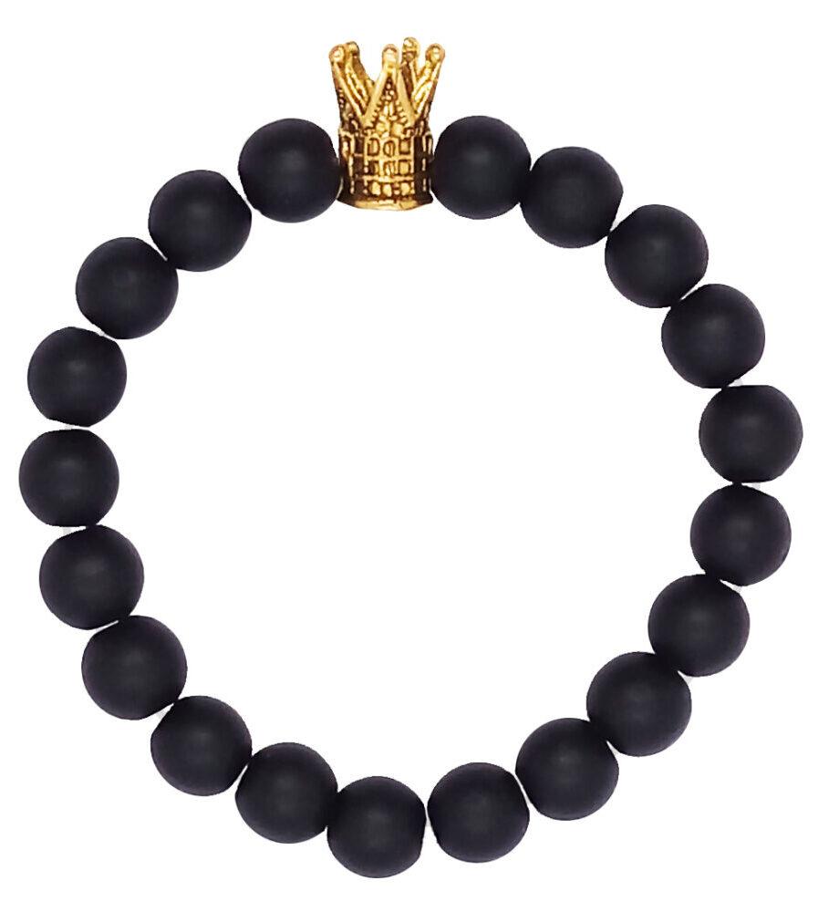 خرید کادو برای دختران دستبند طرح تاج کد DT-02