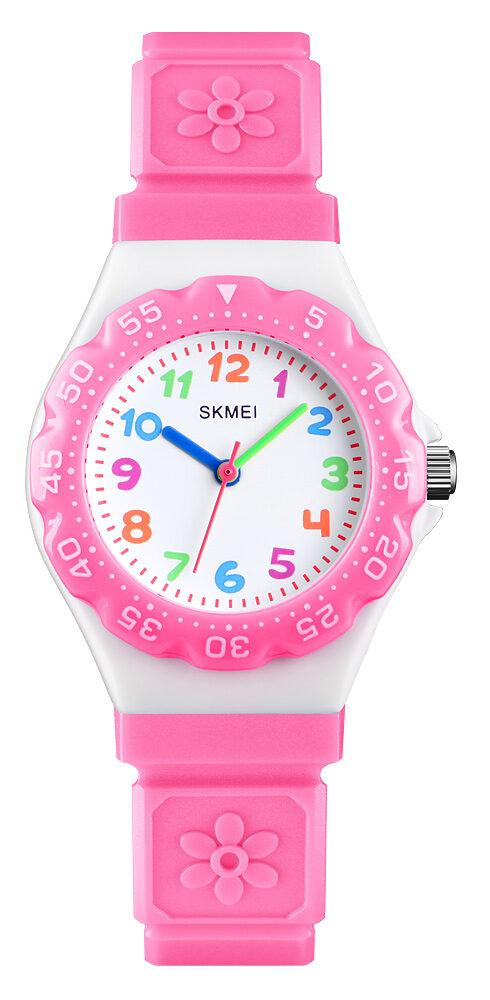 خرید کادو برای دختران ساعت مچی عقربه ای بچگانه اسکمی مدل 1483 کد 06