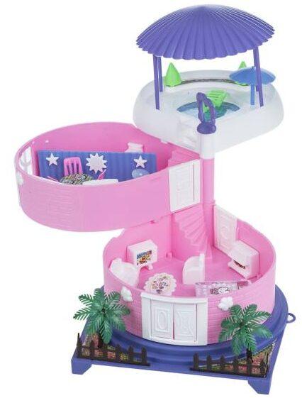 خرید کادو برای دختران اسباب بازی خانه عروسکی مدل کلبه بهار