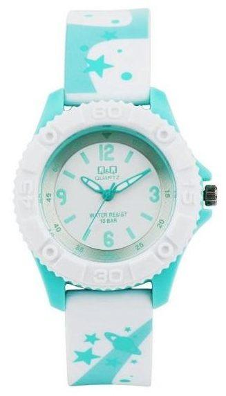 خرید کادو برای دختران ساعت مچی عقربه ای بچگانه کیو اند کیو مدل vr41j004y