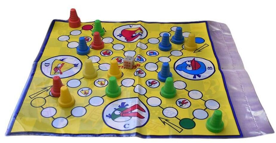 برد گیم بازی منچ و مار و پله سی دا مدل سفره ای کد Na1006