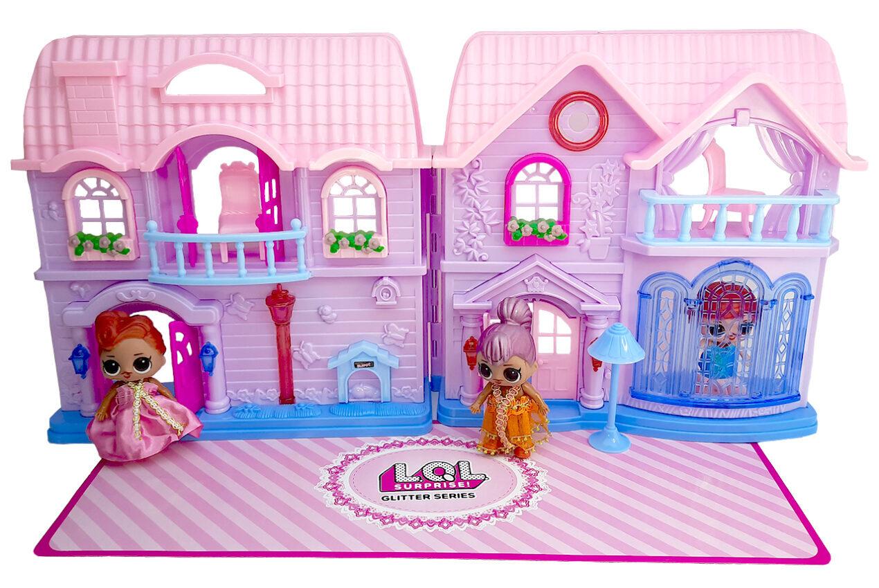 خرید کادو برای دختران ست اسباب بازی خانه ال او ال سوپرایز مدل 50
