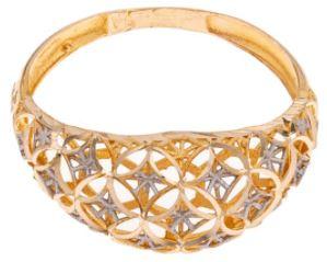 لباس شیک انگشتر طلا 18 عیار کانیار گالری مدل AG