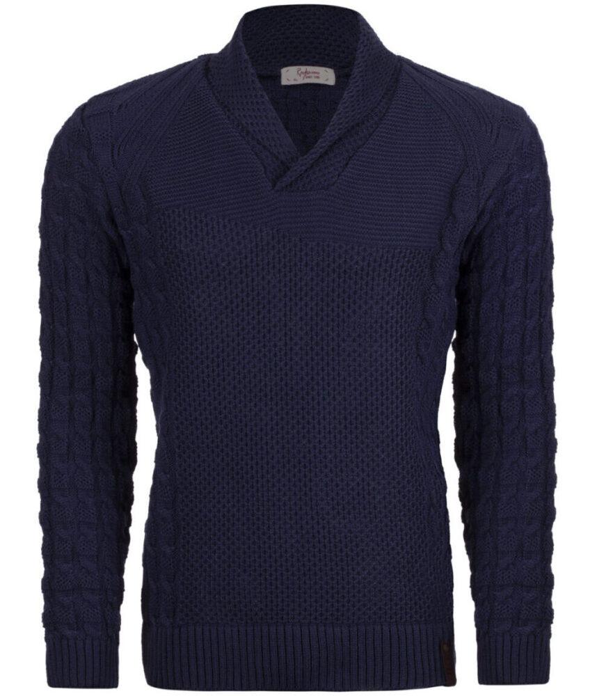 لباس شیک پلیور مردانه رایکا کد 2141Db-05