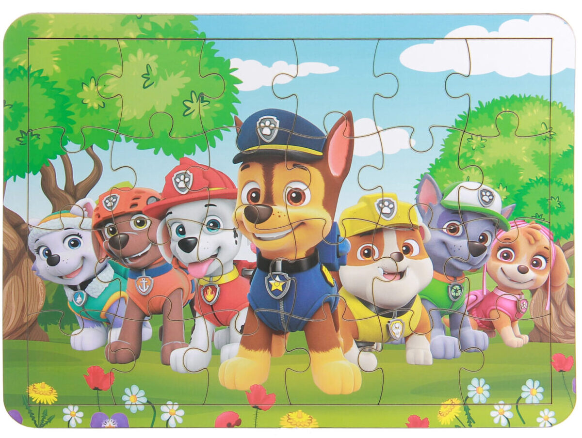 خرید کادو برای پسران پازل 24 تکه مدل سگ های نگهبان کد MO24