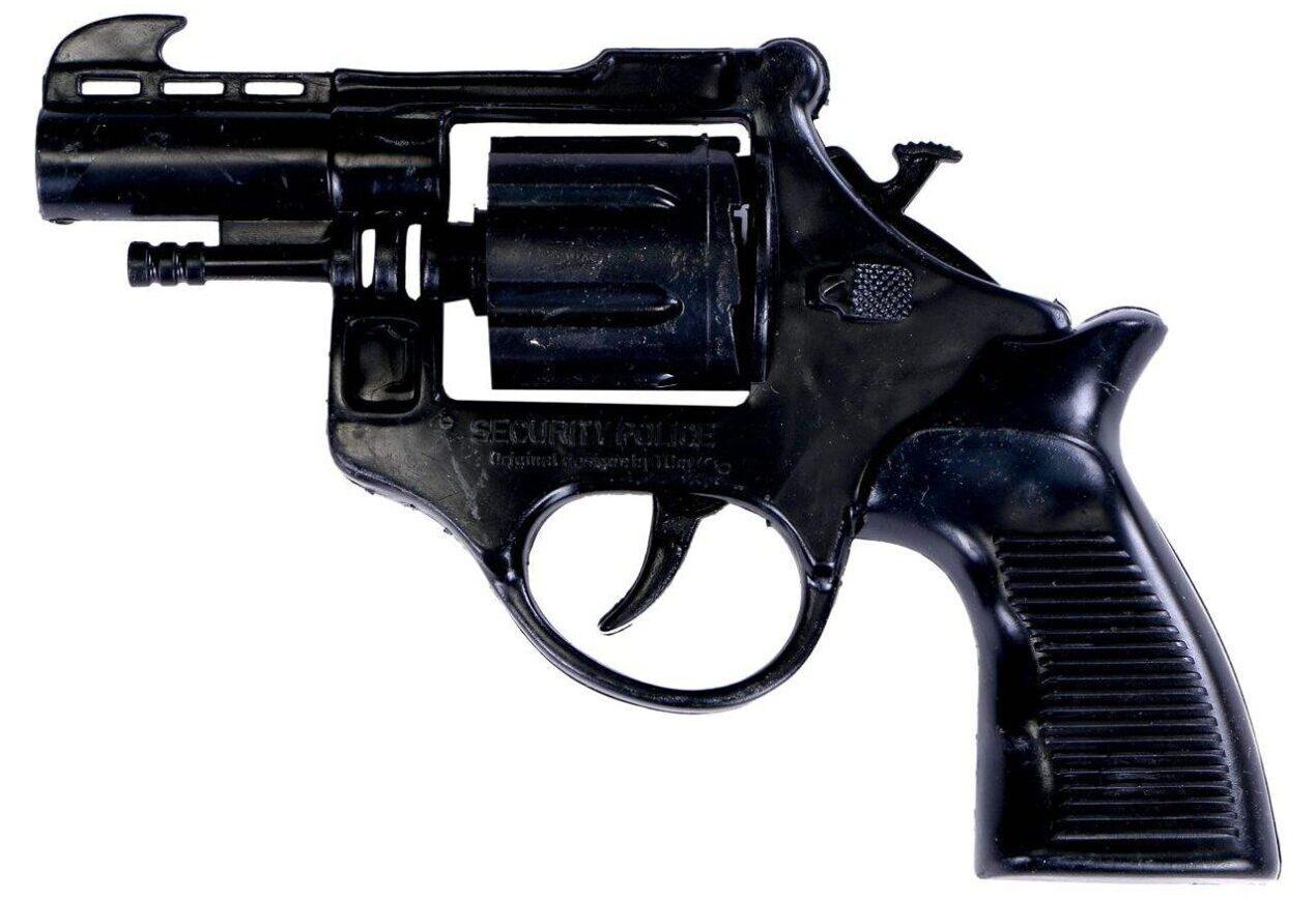 خرید کادو برای پسران تفنگ اسباب بازی مدل ترقه ای به همراه یک بسته تیر