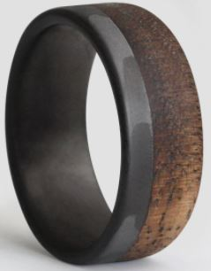 کادوی ولنتاین برای پسران-انگشتر مردانه سورئال دیزاین مدل Burnt walnuts