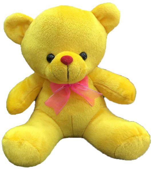 کادوی ولنتاین برای دختران عروسک طرح خرس پاپیونی 23 سانتی متر