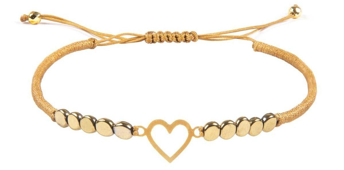 کادوی ولنتاین برای دختران دستبند طلا 18 عیار زنانه ریسه گالری کد Ri3-H1176