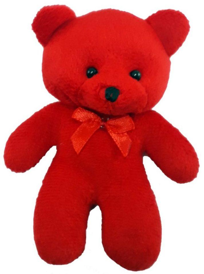 کادوی ولنتاین برای دختران عروسک طرح خرس ارتفاع 12 سانتیمتر