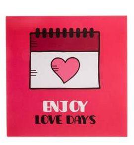 کادوی ولنتاین برای دختران کارت پستال چاپ آقا طرح قلب مدل 07
