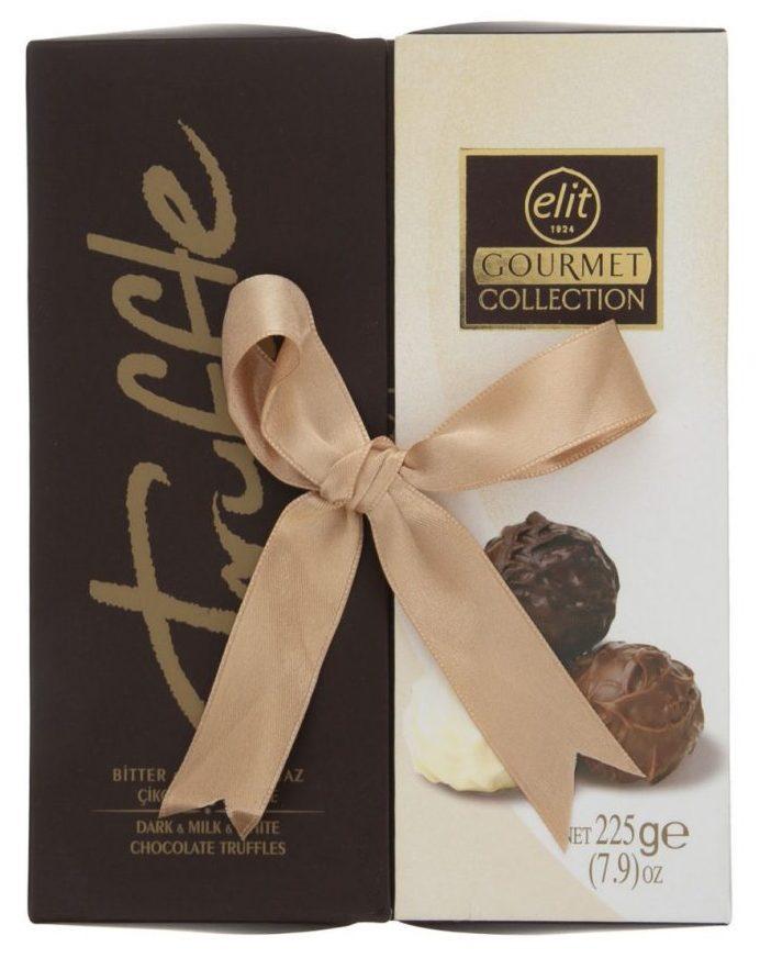 کادوی ولنتاین برای دختران شکلات ترافل مخلوط الیت - 225 گرم
