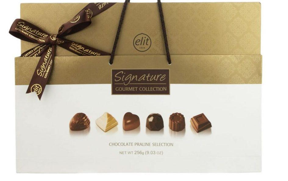 کادوی ولنتاین برای دختران شکلات مخلوط پرالین الیت - 256 گرم