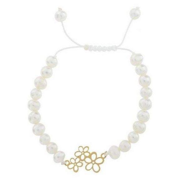 کادوی ولنتاین برای دختران دستبند طلا 18 عیار الن نار مدل EL18