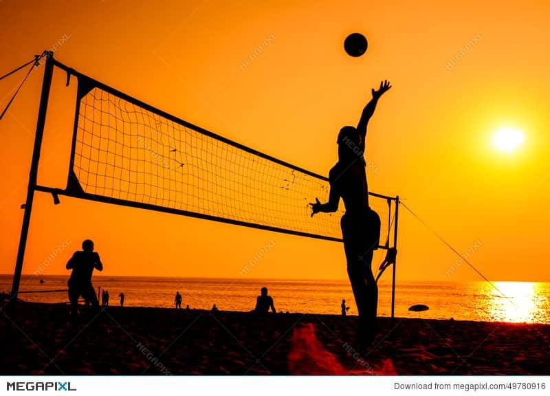 والیبال ورزشی برای کالری سوزی و تقویت عضلات بدن