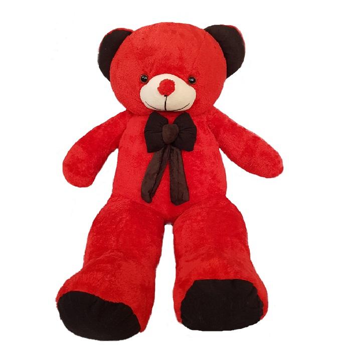 کادوی ولنتاین برای دختران عروسک طرح خرس کد 059 ارتفاع 120 سانتی متر