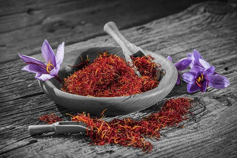 زعفران ادویه ای برای افزایش روحیه