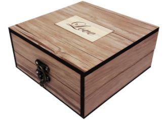 کادو ولنتاین برای پسران-جعبه کادویی مقوایی مدل پاپیونی