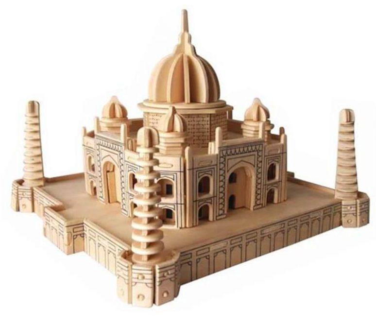 کادو برای مهندس پازل چوبی سه بعدی رایا مدل تاج محل
