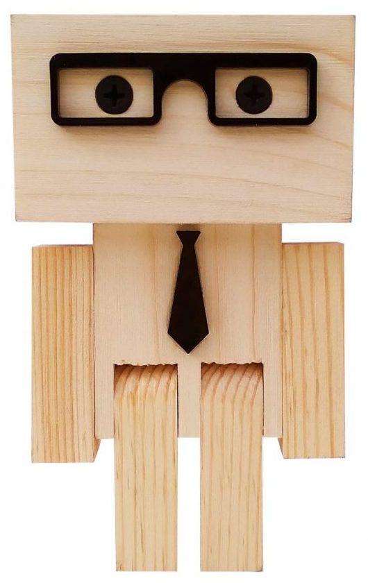 کادو برای مهندس عروسک چوبی مدل مهندس