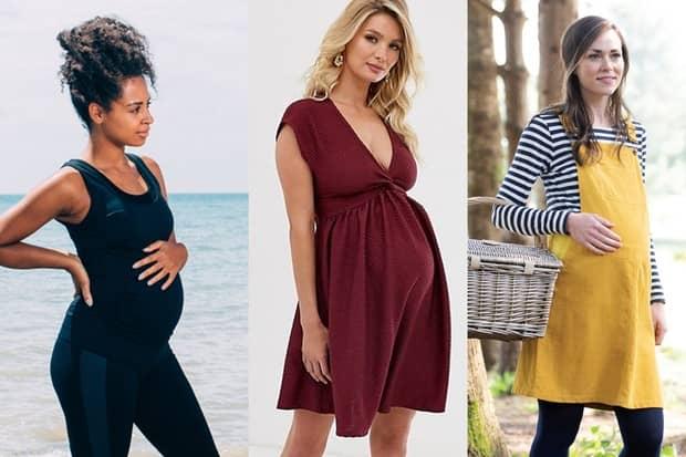 معرفی 8 مدل از انواع لباس بارداری برای خانم ها