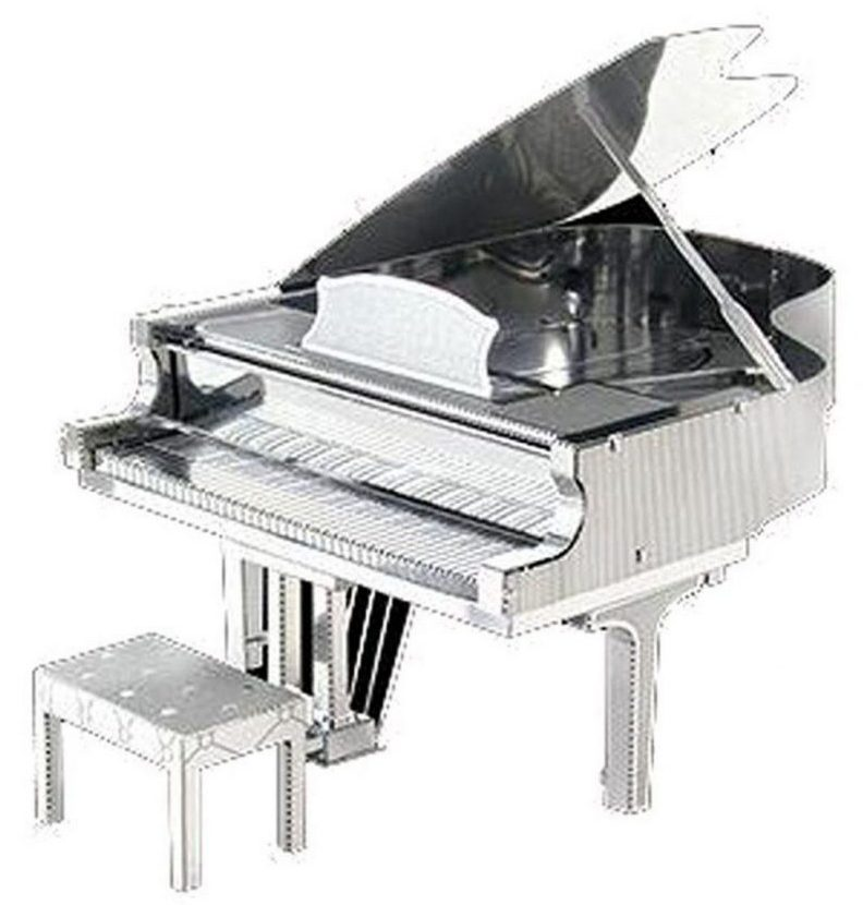 کادو برای مهندس پازل فلزی سه بعدی مدل Piano