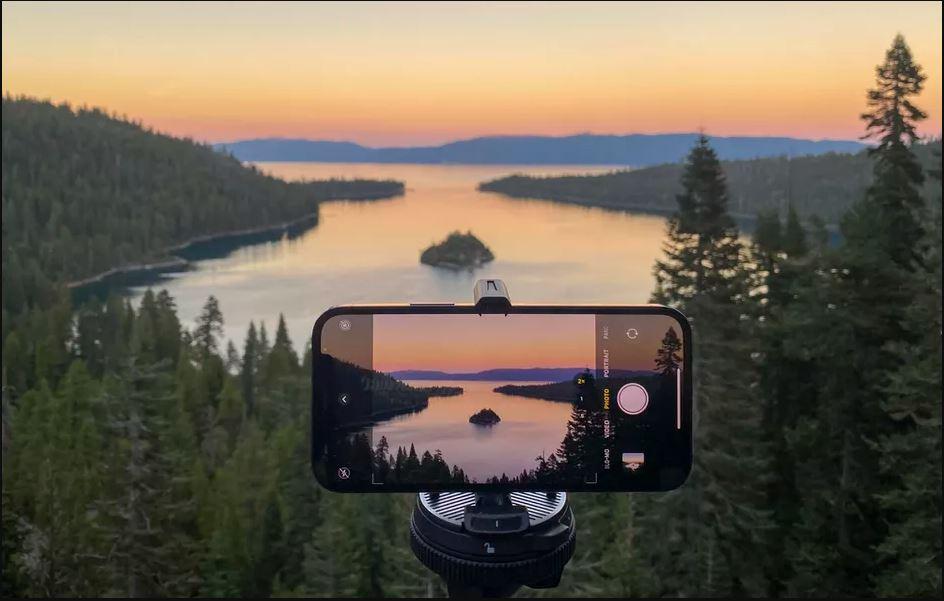 قابلیت night mode در دوربین های iphone 12