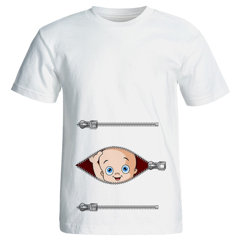 لباس بارداری تی شرت بارداری مدل 3950