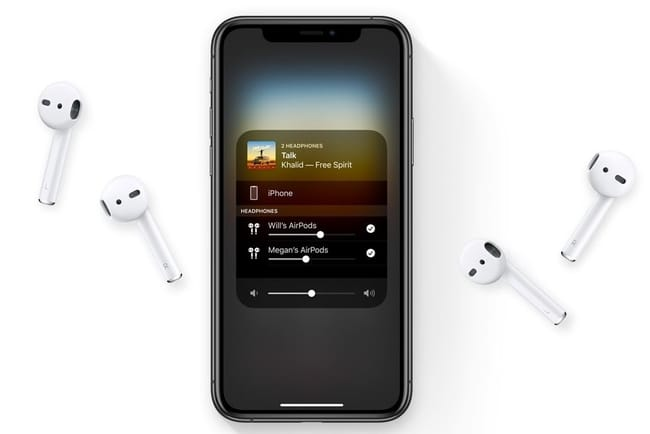 airpod-apple-two-device