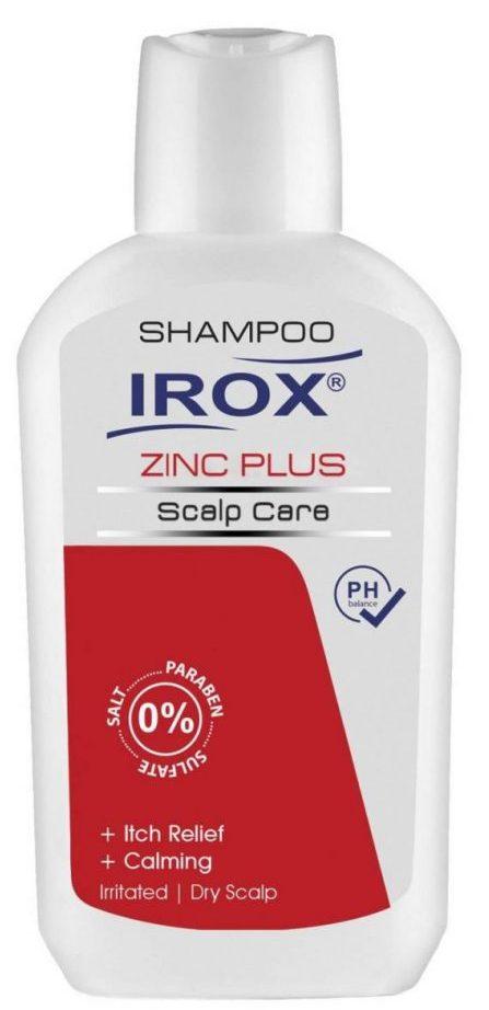 شامپو مو ایروکس مدل Zinc Plus حجم ۲۰۰ میلی لیتر