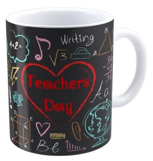 ماگ شین دیزاین طرح تخته گچی روز معلم کد 4159
