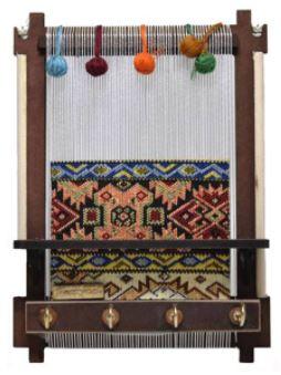 صنایع دستی-جاکلیدی سه بعدی طرح دار قالی کد 217