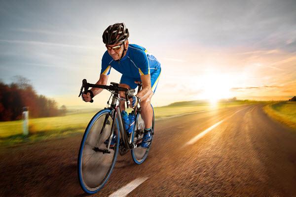 دوچرخه سواری و ساخت یک بدن ورزیده